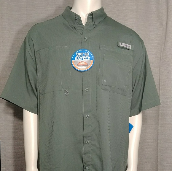 86b5d249a51 Columbia Shirts   Mens Crystal Springs Short Sleeve   Poshmark